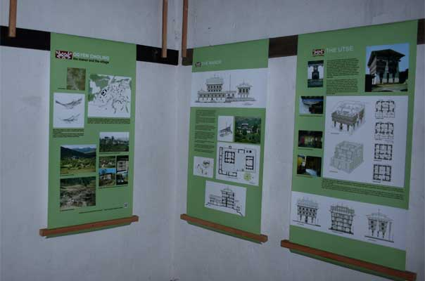 Exhibits in the museum
