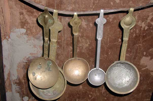 Different ladles
