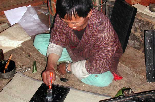 To  revive and enhance traditional skills and provide an outlet/market for local  handicrafts